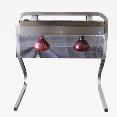 Warmtebrug met twee lampen