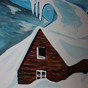 Themawand apres ski 10 meter