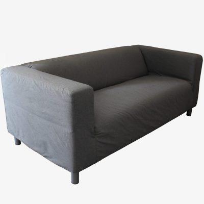 Latina loungebank met grijze hoes