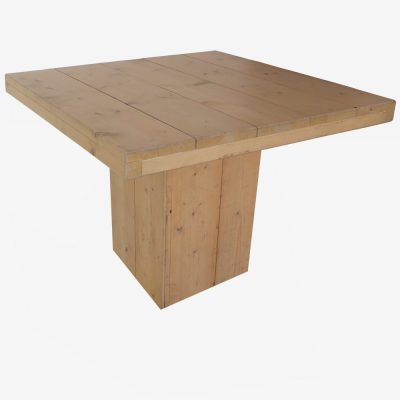 Lage lorenzo tafel 100 bij 100 cm